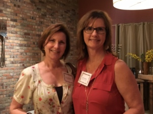 Joan Gabrielson and Julie Denker (l-r)