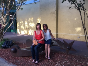 2016 - CLI - Julie and Cindy outside