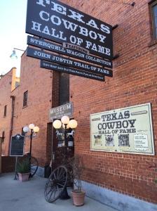 2016 - CLI - Julie - cowboy sign