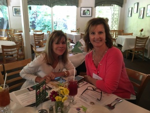 2016 - august luncheon - debbie and julie 2