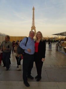 Richard and Lora enjoying Paris