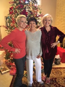 Cindy with her mom and daugher