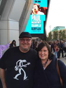 Cheri and Mark at the Paul McCartney concert!